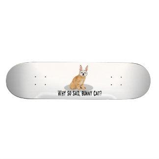 Gato del conejito triste monopatín 21,6 cm
