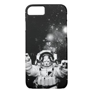 Gato del cosmonauta funda para iPhone 8/7