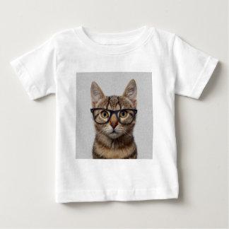 Gato del friki camisetas