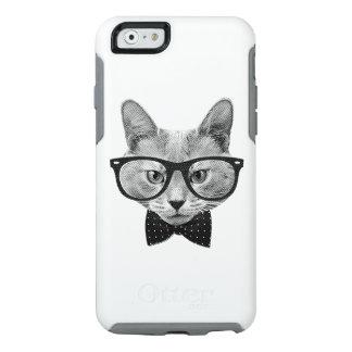 Gato del inconformista del vintage funda otterbox para iPhone 6/6s