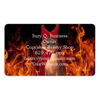 Gato del infierno tarjetas de visita