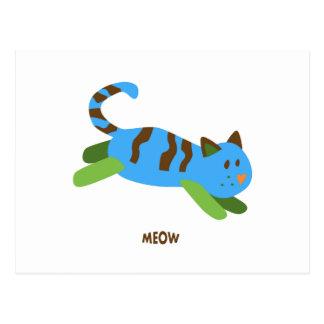 Gato del maullido postal