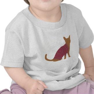 Gato del otoño camisetas
