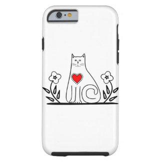 Gato del país funda para iPhone 6 tough