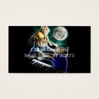 gato del teclado - música del gato - memes del tarjeta de visita