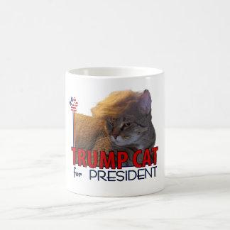 ¡Gato del triunfo para el presidente! Taza De Café