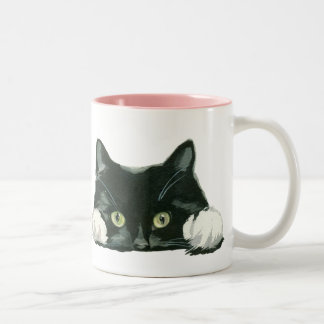 gato divertido de la taza del amante del gato