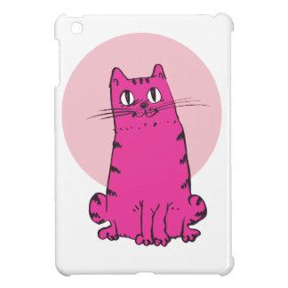 gato dulce que sienta el dibujo animado divertido