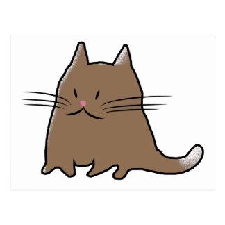 Gato gordo postal