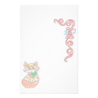 Gato inmóvil animal de los amantes del mascota inm  papeleria de diseño