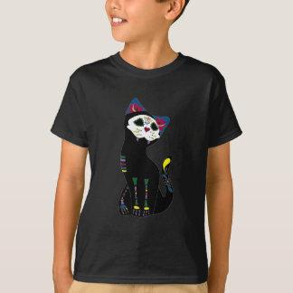 """""""Gato Muerto"""" Dia De Los Muertos Cat Camiseta"""