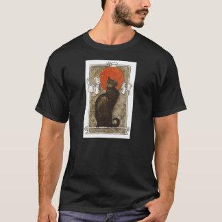 Gato negro - arte Nouveau - Theophile Steinlen Camiseta