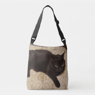Gato negro Roxie Bolso Cruzado