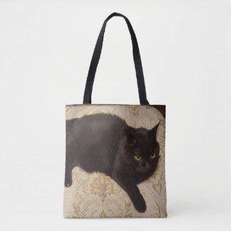 Gato negro Roxie Bolso De Tela