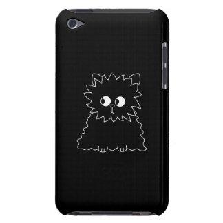 Gato persa negro lindo funda para iPod de barely there