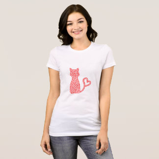 Gato precioso camiseta