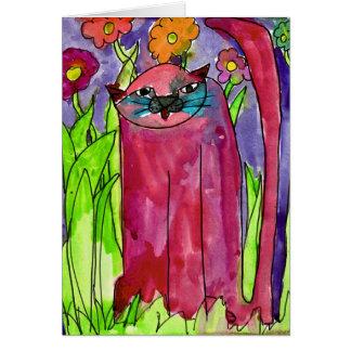 Gato rojo • Bianca Saad, envejece 8 - tarjeta