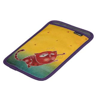Gato rojo funda para iPad mini