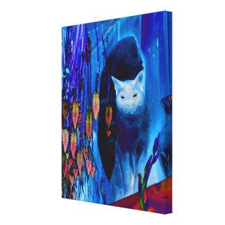 Gato siamés azul de la fantasía
