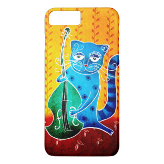 Gato y jazz funda iPhone 7 plus