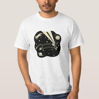 Gato y ratón de Astro Camisetas
