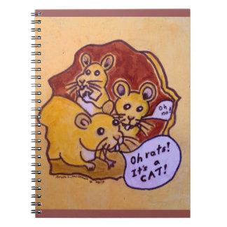 Gato y ratón libro de apuntes