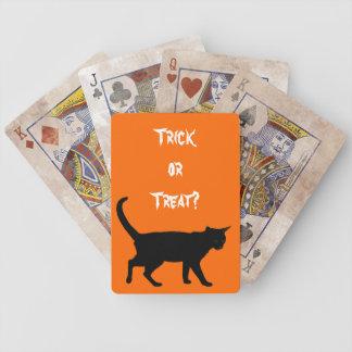 ¡Gatos de Halloween! Baraja De Cartas