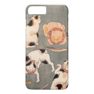 Gatos de Kuniyoshi Utagawa Funda iPhone 7 Plus