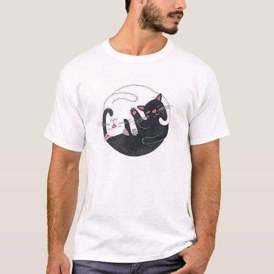 gatos de la camiseta