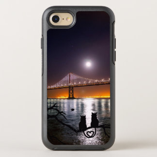 Gatos del amor funda OtterBox symmetry para iPhone 7