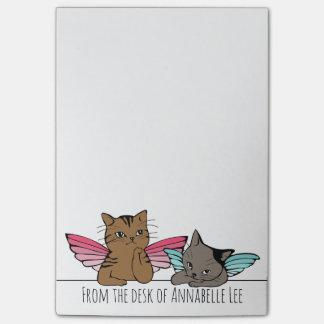Gatos del ángel notas post-it®