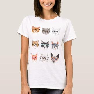 Gatos del inconformista camiseta