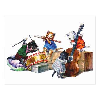Gatos del jazz postal