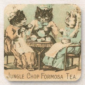 Gatos del té de Formosa Posavaso