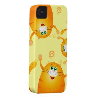 Gatos divertidos, caso del iPhone 4 Funda Para iPhone 4