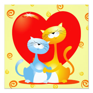 Gatos en el amor, invitación