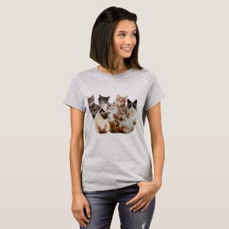 gatos, gatos y gatos camiseta
