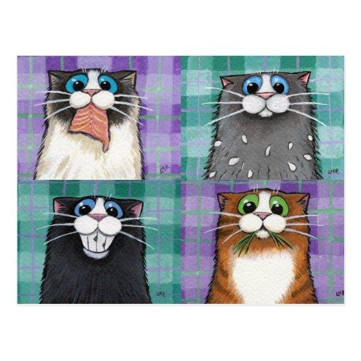 Gatos hasta ninguna buena postal