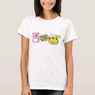 Gatos lindos camiseta
