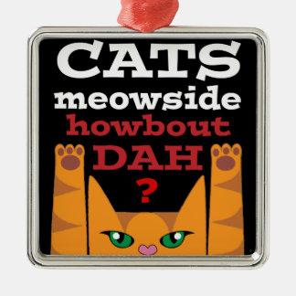 Gatos Meowside - ornamento