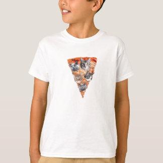 Gatos para el Pizza-Amante Camiseta