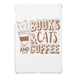 gatos y café de los libros
