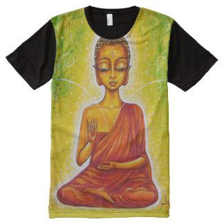 Gautama Buddha Camisetas Con Estampado Integral