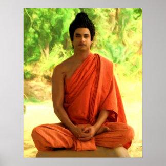 Gautama Buddha Póster