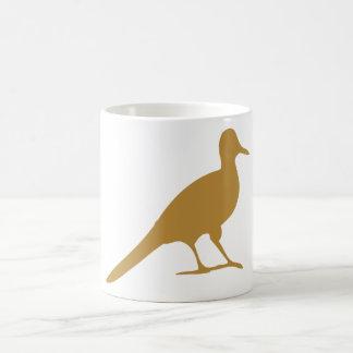 Gaviota de los pájaros del pájaro de las aves cost tazas de café