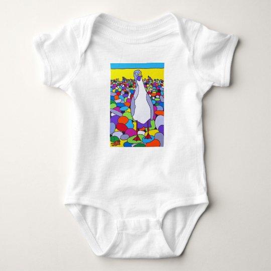 Gaviota loca - poca pinza body para bebé