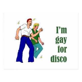 Gay para el disco postal