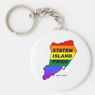 Gay Pride1 de Staten Island Llaveros