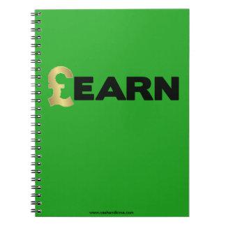 GBP aprende el cuaderno (el verde)