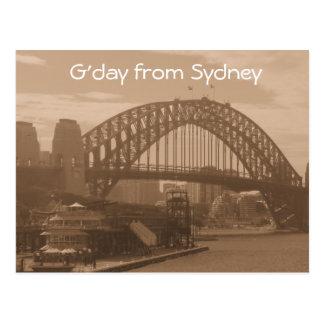 G'day de la postal de Sydney